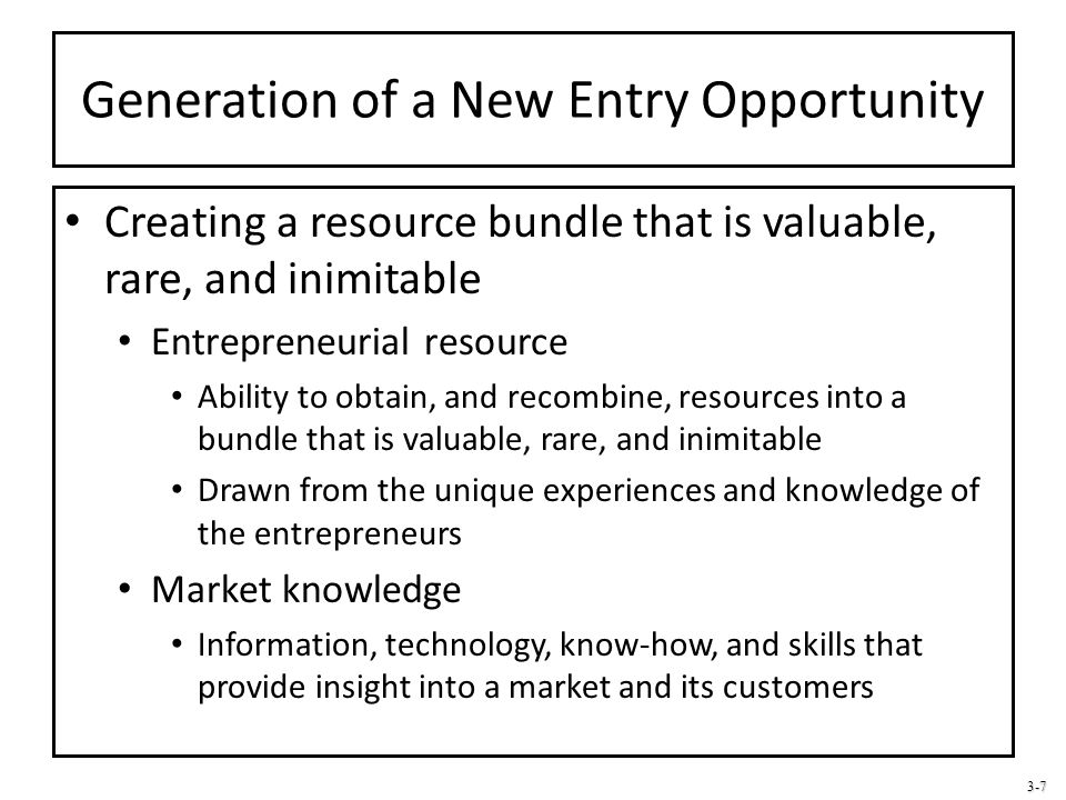 3-18 Entry Strategy for New Entry Exploitation Lead time can be extended by: Building customer loyalties Building switching costs Protecting product uniqueness Securing access to important sources of supply and distribution Switching costs: Must be borne by customers if they: Stop purchasing from the current supplier Begin purchasing from new supplier