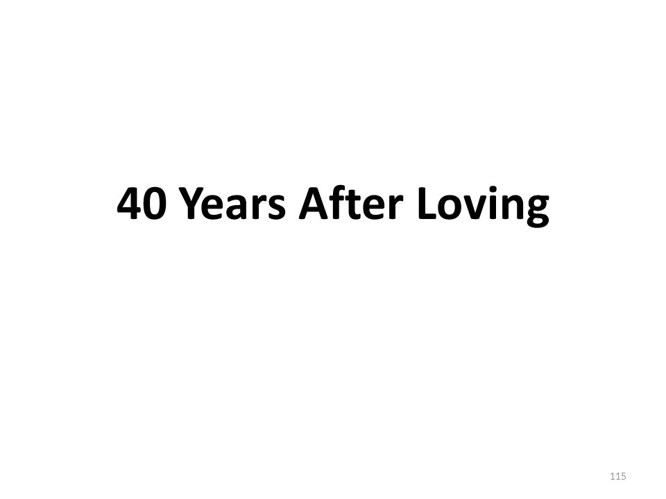 40 Years After Loving 115