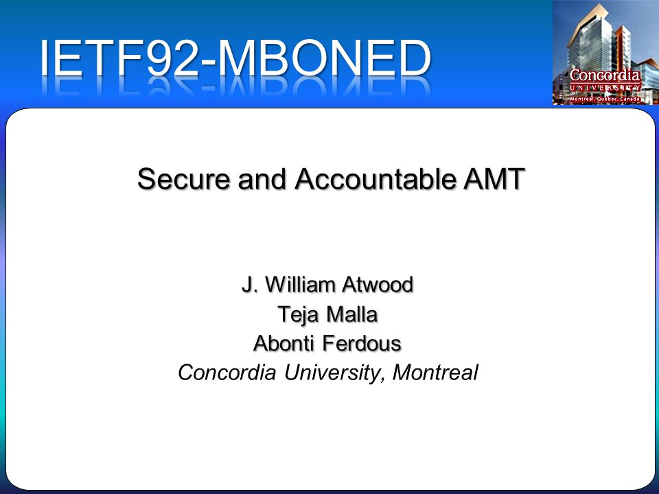 Secure and Accountable AMT