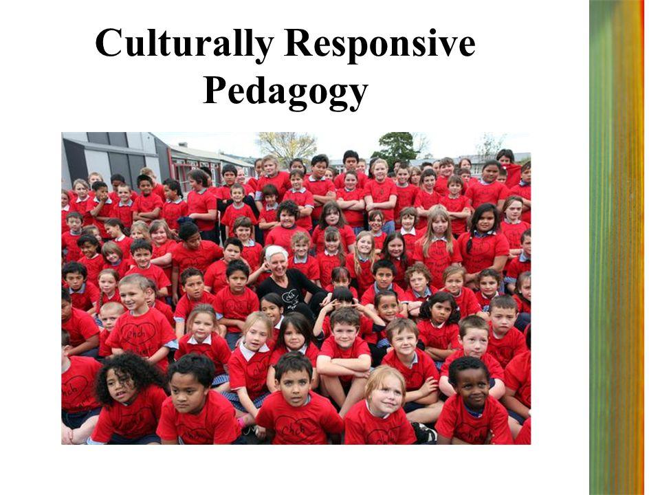 Culturally Responsive Pedagogy