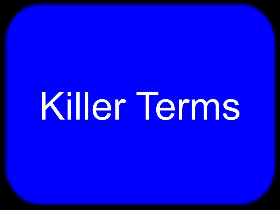 $100 $200 $300 $400 $500 Killer Terms Killer Terms 2 The Difference Political Institutions Political Institutions 2