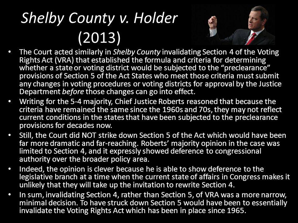 Shelby County v.