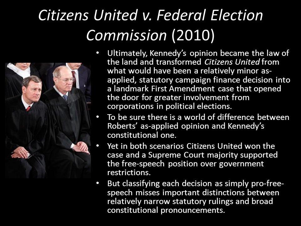 Citizens United v.