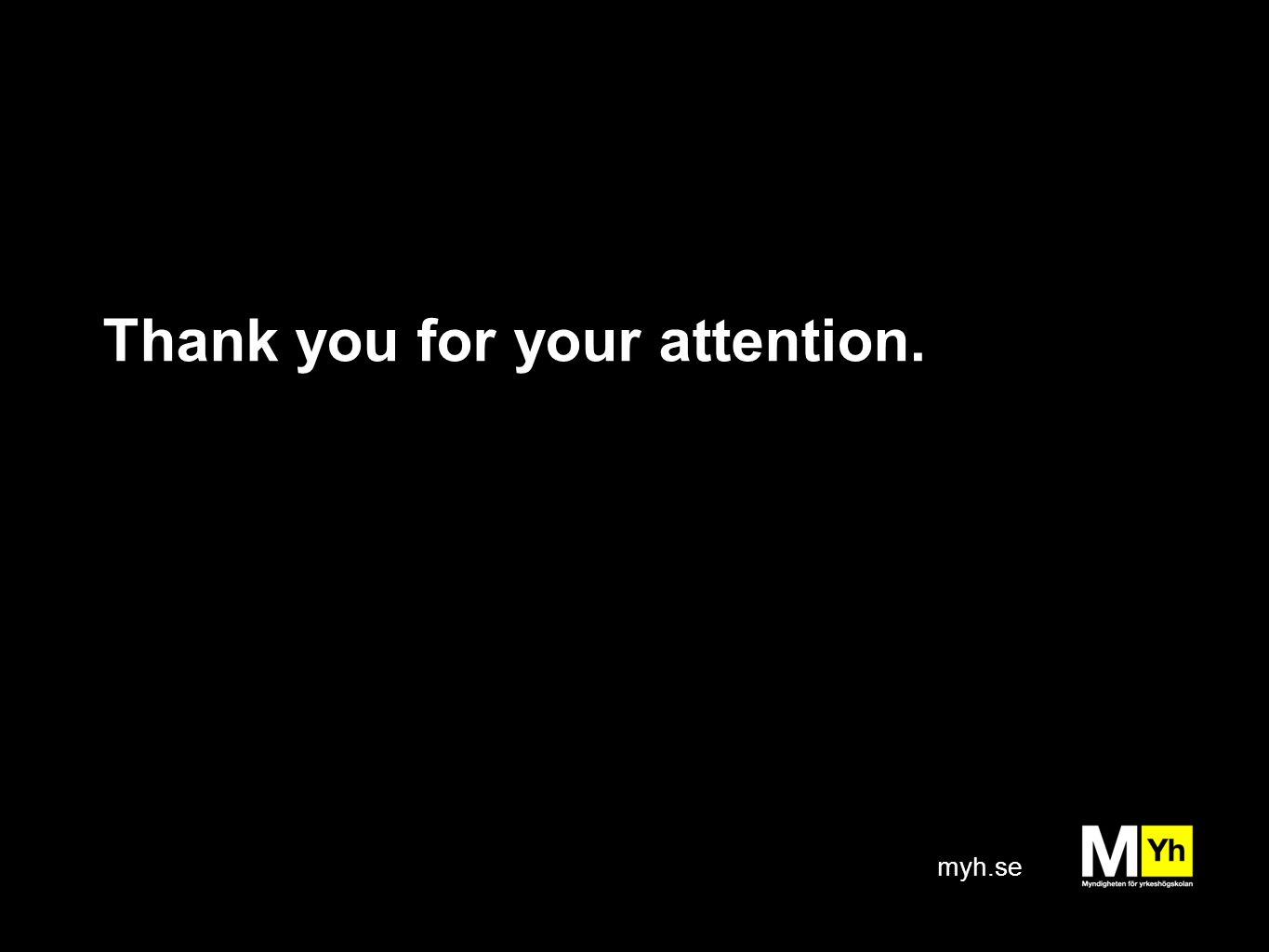 myh.se Thank you for your attention.