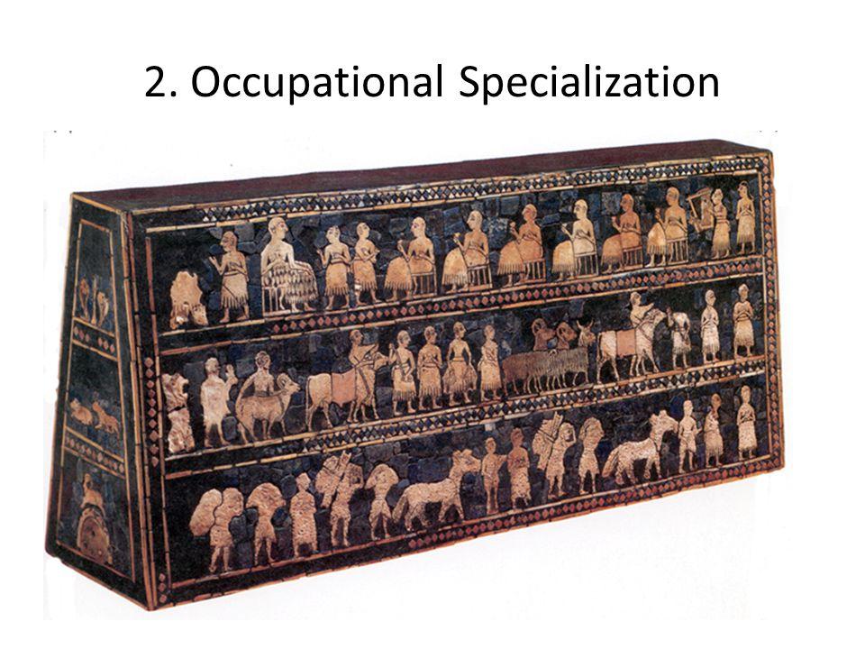 2. Occupational Specialization