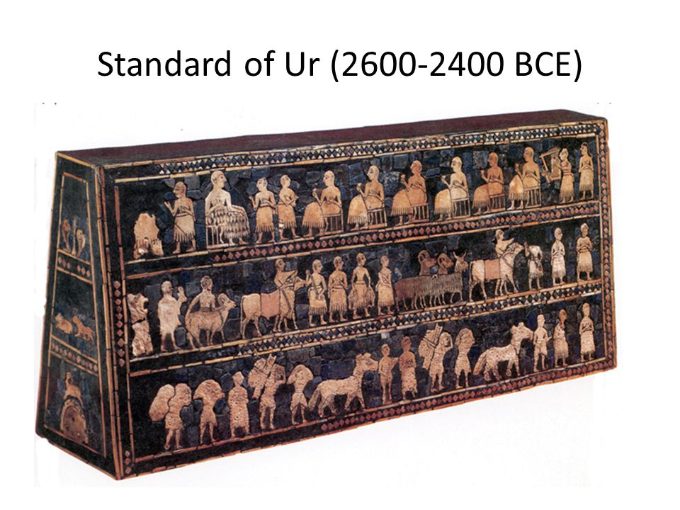 Standard of Ur (2600-2400 BCE)