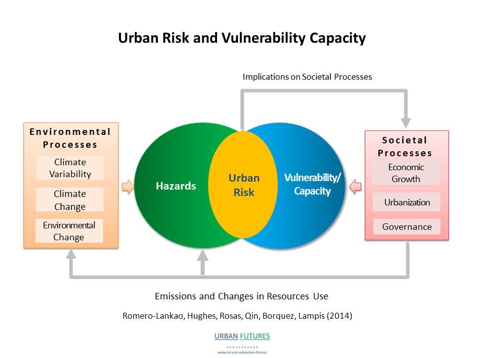 Urban Risk and Vulnerability Capacity Romero-Lankao, Hughes, Rosas, Qin, Borquez, Lampis (2014)
