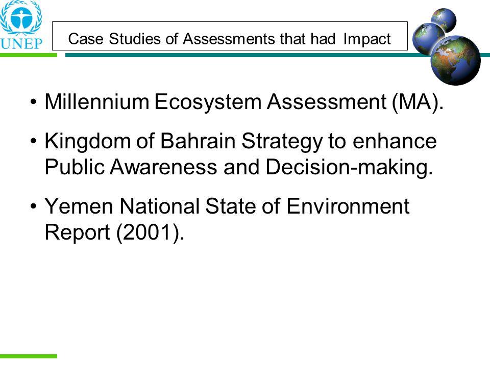 Millennium Ecosystem Assessment (MA).