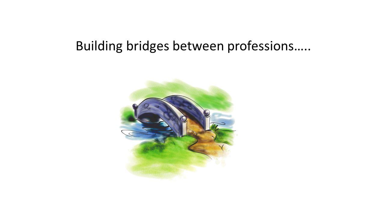 Building bridges between professions…..
