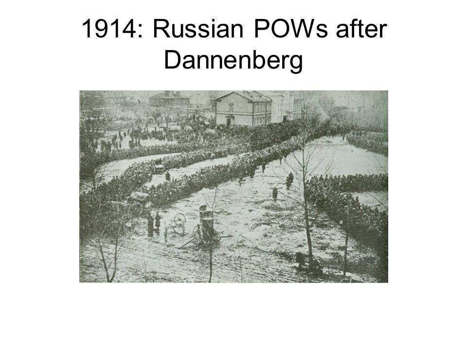 1914: Russian POWs after Dannenberg