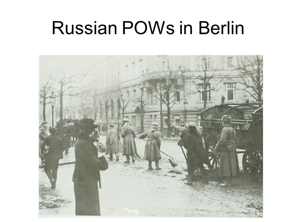 Russian POWs in Berlin
