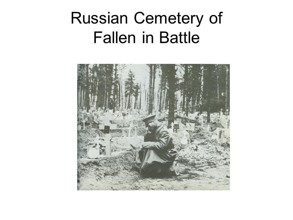 Russian Cemetery of Fallen in Battle