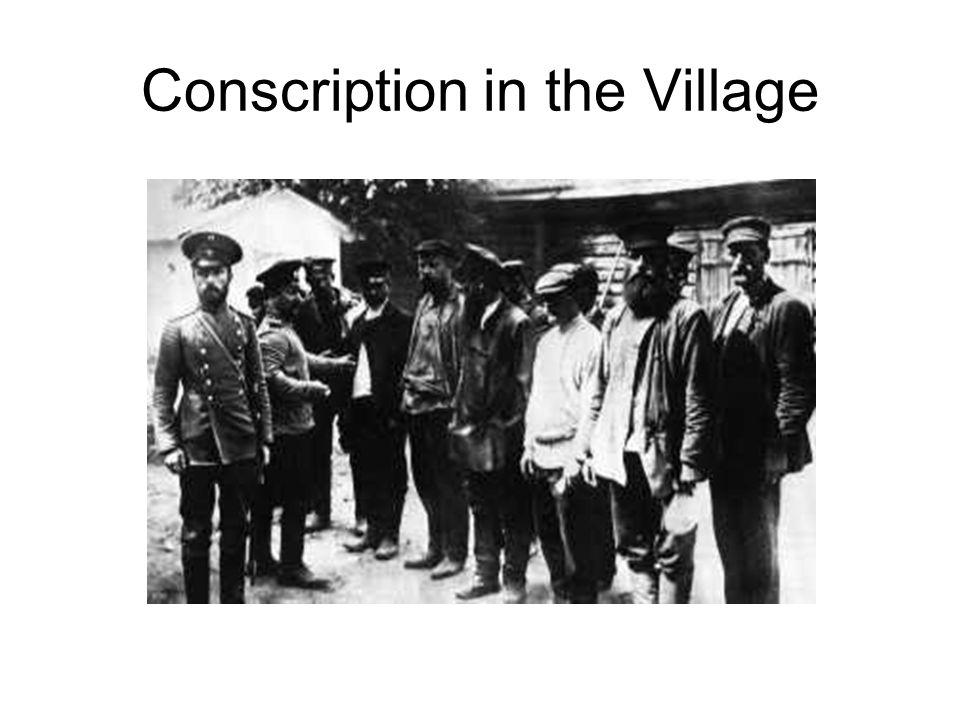 Conscription in the Village