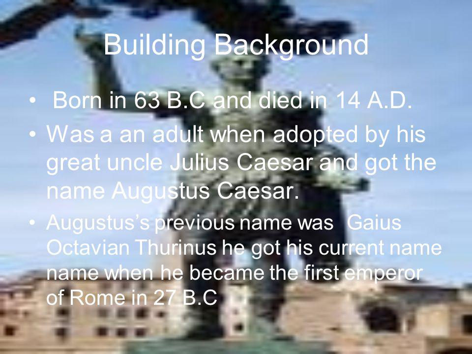 Augustus Caesar Eddie Nevarez Ms.Marshall 2009-10 H.S.S 7.1