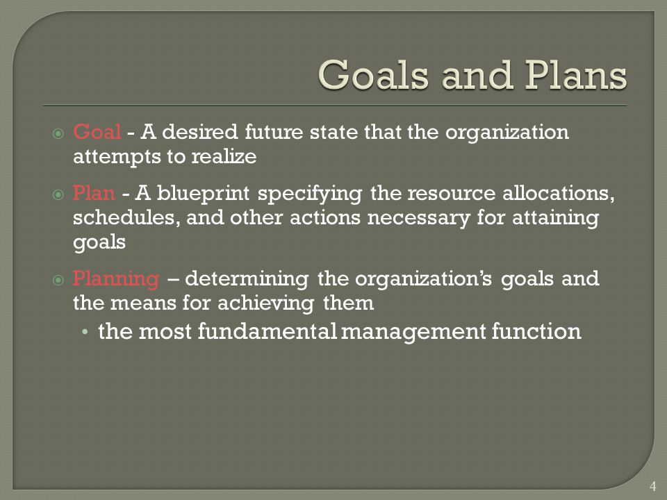  Looking at trends and discontinuities and imagining possible alternative futures to build a framework within which unexpected future events can be managed 35 Forces managers to rehearse mentally what they would do if their best-laid plans were to collapse