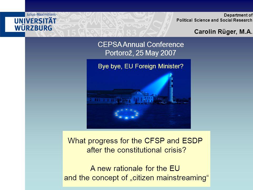 European Citizens' Consultations process graph