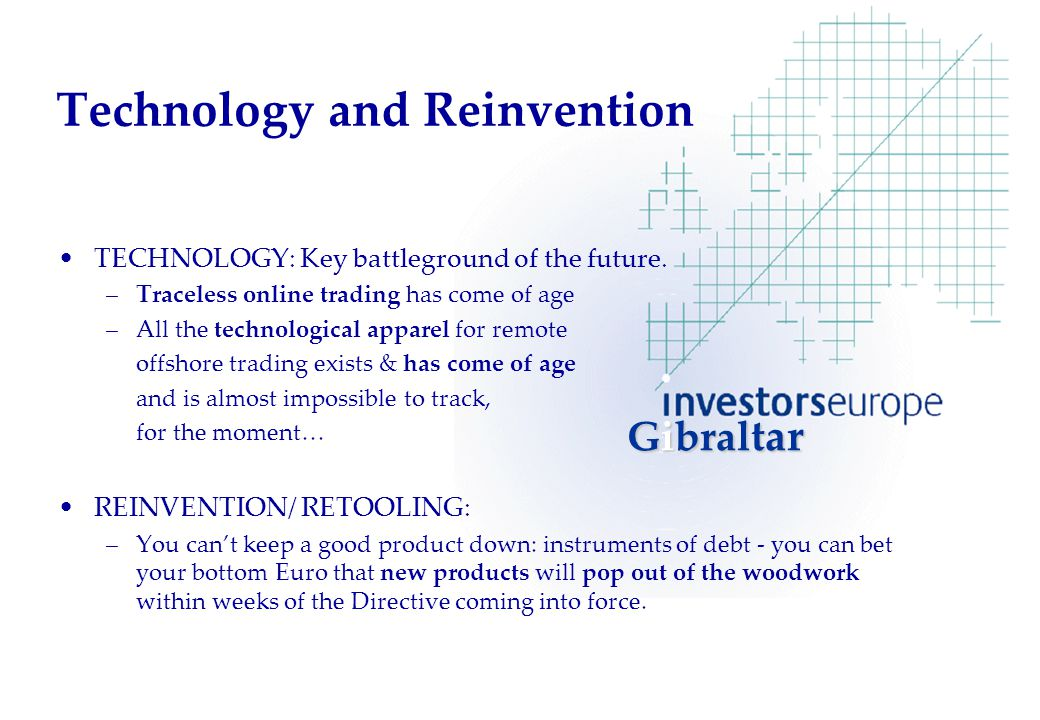 Technology and Reinvention TECHNOLOGY: Key battleground of the future.