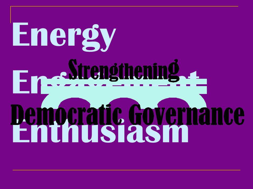 Energy Engagement Enthusiasm