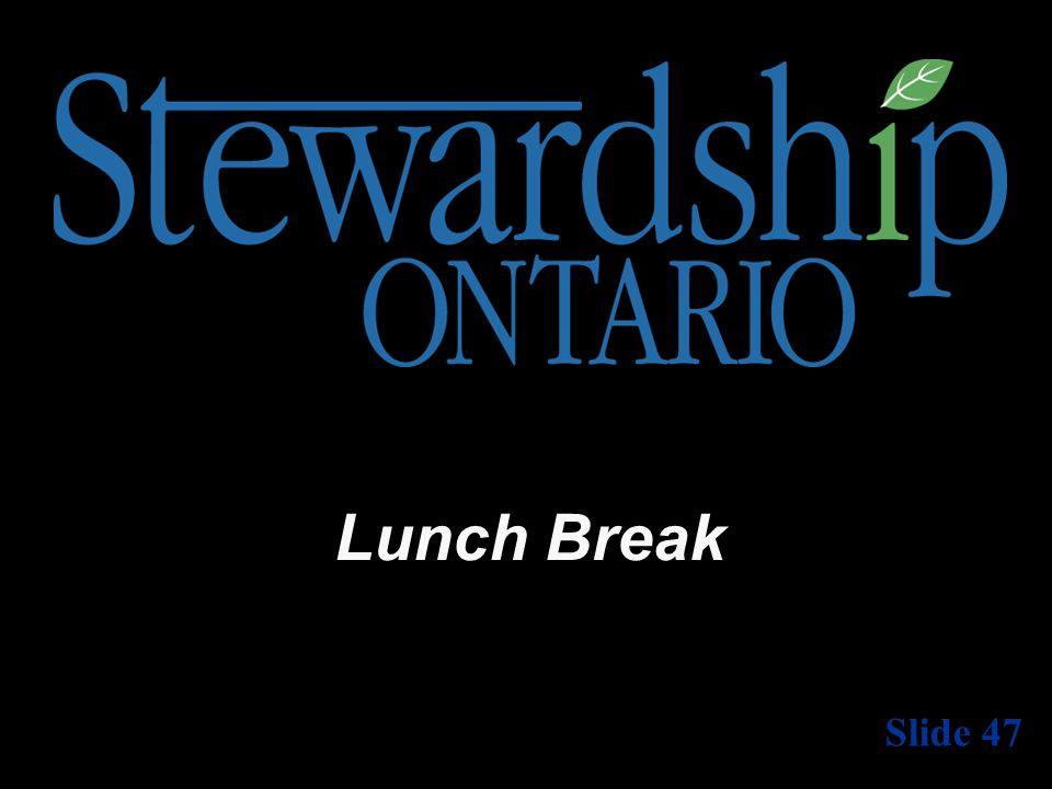 Lunch Break Slide 47