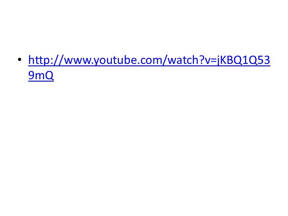 http://www.youtube.com/watch v=jKBQ1Q53 9mQ http://www.youtube.com/watch v=jKBQ1Q53 9mQ