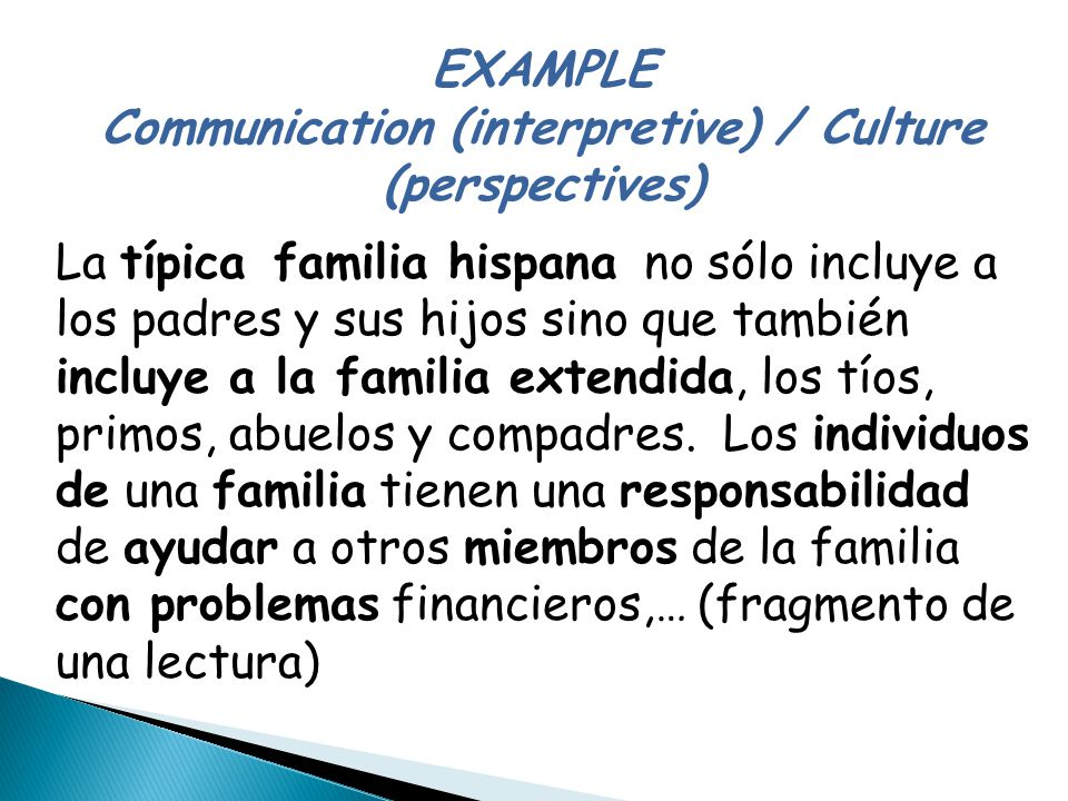 """Antes de leer. Select four words from the list below that you might use in describing the concept of """"family"""" in your native culture. As a class, tall"""