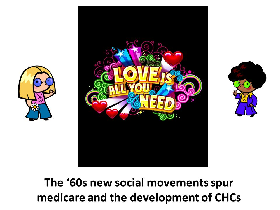The '60s new social movements spur medicare and the development of CHCs