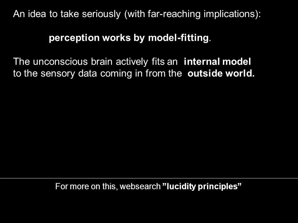 Models and model-fitting require mathematics For more on this, websearch lucidity principles