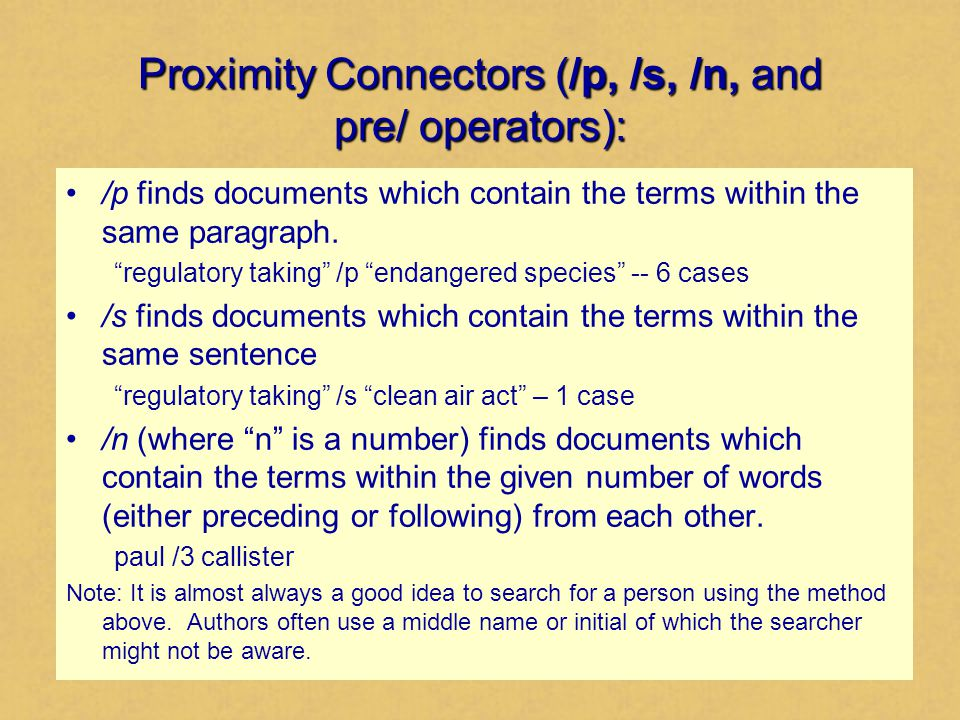 Proximity Connectors (/p, /s, /n, and pre/ operators): To require a certain order for the terms use pre/n.
