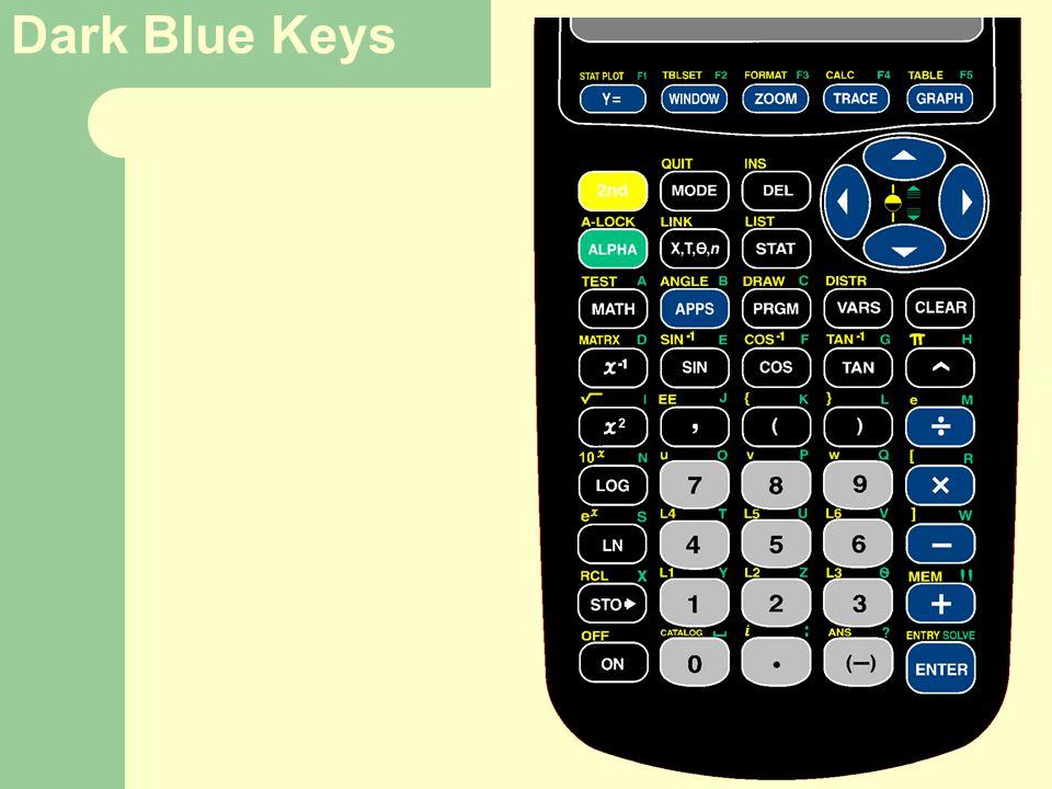 Dark Blue Keys