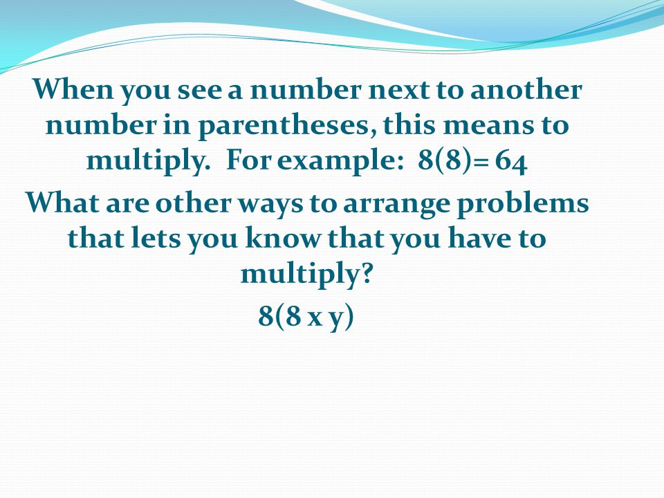 Why else is it important to use the distributive property in equations and expressions with variables It is important to use the distributive property to be able to solve complex problems It will also prepare you for algebra which you have to pass in order to graduate high school