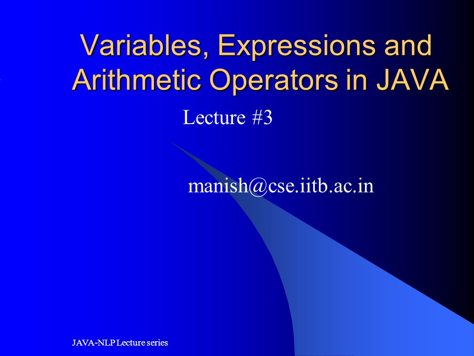 JAVA-NLP Lecture series final reserve word class calculateTax { public static void main ( String[] arg ) { l final char c = 'A'; f final int count = 0;...