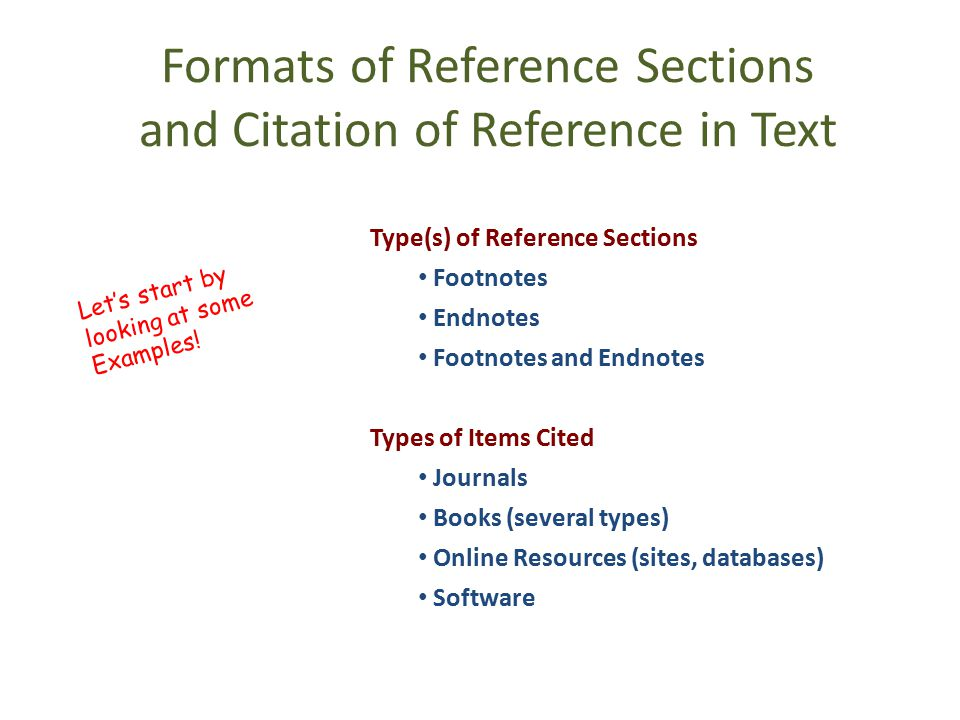 Citing Reference in Text [1] By superscript numbers, which appear outside the punctuation.