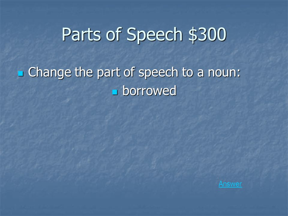 What is plural noun What is plural noun