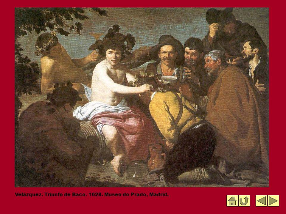Velázquez. Triunfo de Baco. 1628. Museo do Prado, Madrid.
