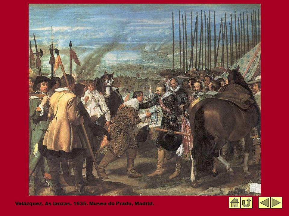 Velázquez. As lanzas. 1635. Museo do Prado, Madrid.