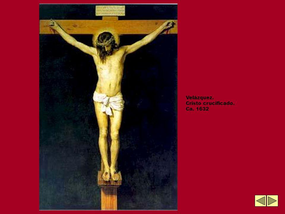 Velázquez. Cristo crucificado. Ca. 1632