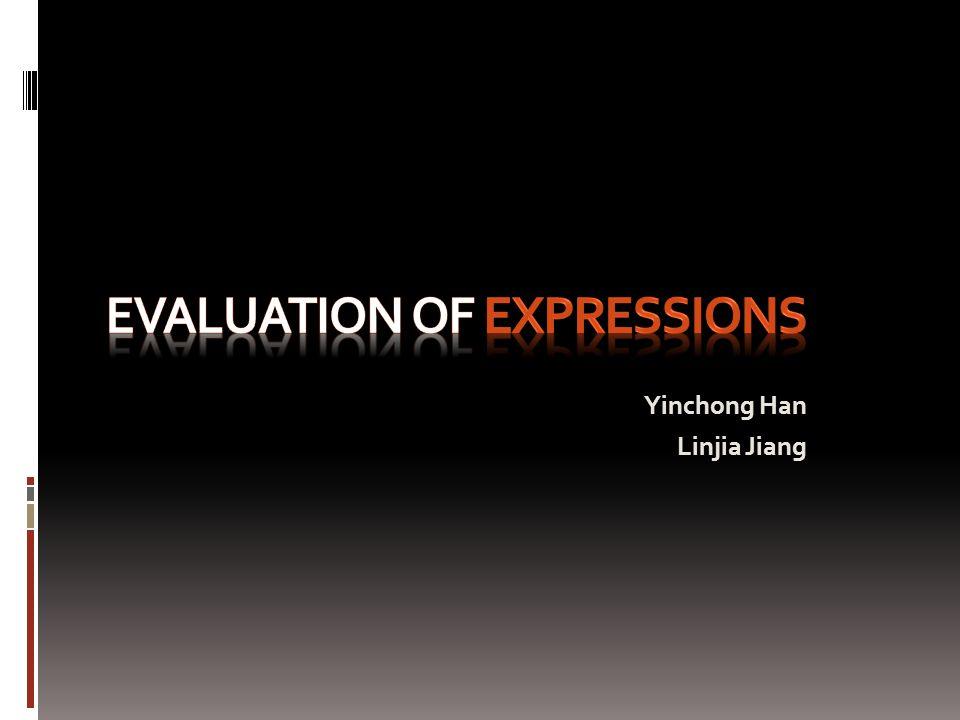 Yinchong Han Linjia Jiang