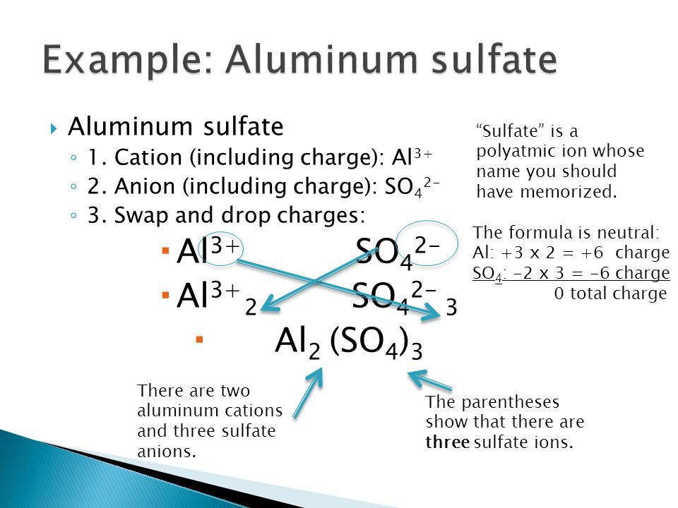  Sodium chloride ◦ 1.Cation (including charge): Na + ◦ 2.