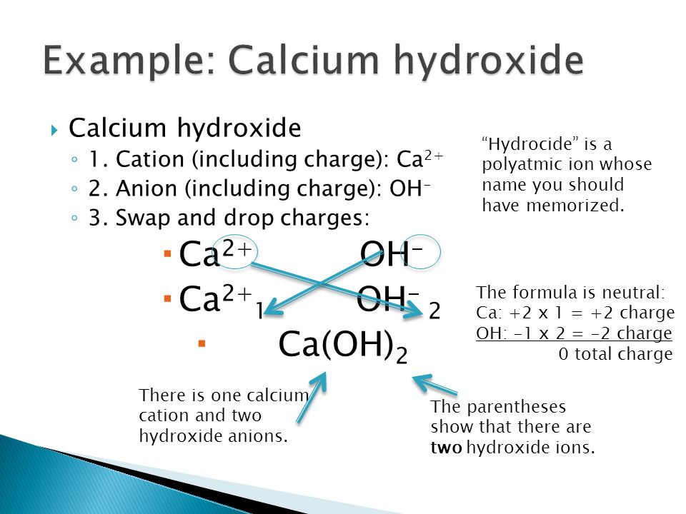  Barium chloride ◦ 1.Cation (including charge): Ba 2+ ◦ 2.