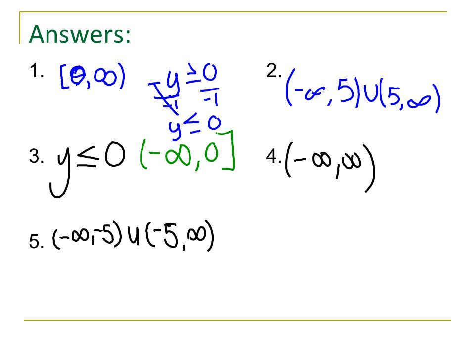 Answers: 1.2. 3.4. 5.