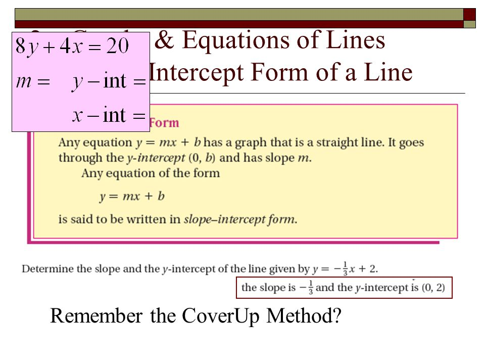 9 – Exponents & Logarithms Translating Right and Left
