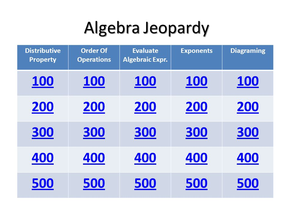 Category Exponents What is the definition of exponent?