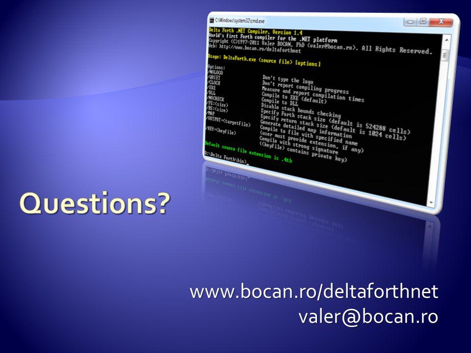www.bocan.ro/deltaforthnetvaler@bocan.ro