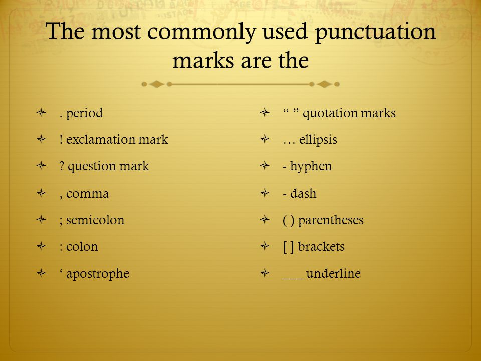Punctuation: Period  A complete sentence that makes a statement ends with a period.