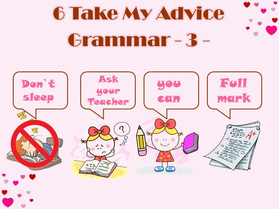Don`t sleep Ask your Teacher you can Full mark