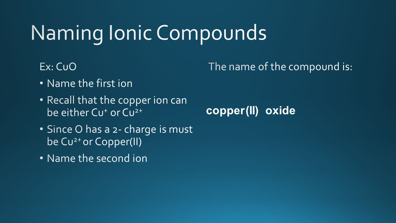 copper(II)oxide