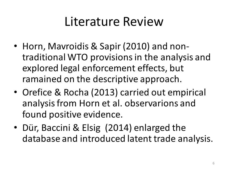 References Horn, H., Mavroidis, P.C. and Sapir, A.