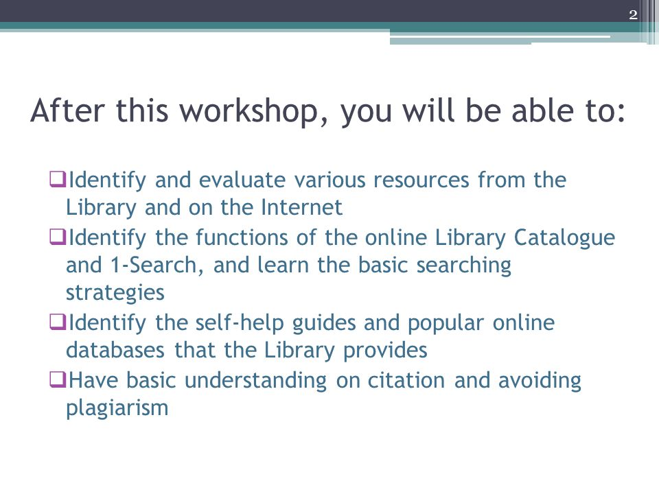Importance of Citation  It gives a kind of credit to the authors of information that contribute to your research paper  It can add the creditability (reliability) of your research paper  Readers of your research paper can refer to the citation list and find out more sources related to your topic  Learn more about citation and plagiarism: http://libguides.ln.edu.hk/bibliography_plagiarism 43