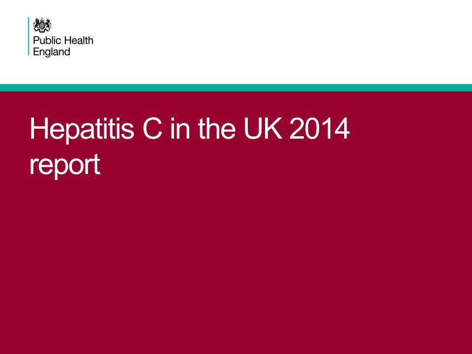 Hepatitis C in the UK 2014 report