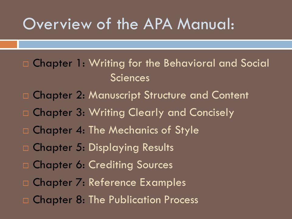 Order of Manuscript Pages (pp.
